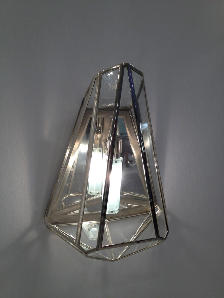 Diamonds Are a Girls Best Friend Sconce